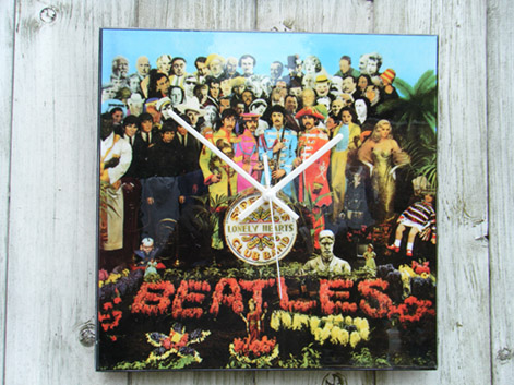 Beatles Sgt Peppers's Album Cover Wall Clock